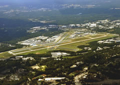 Aerial photo of KPDK (Dekalb-Peachtree Airport)