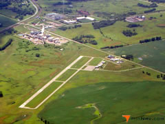 Aerial photo of KBBB (Benson Municipal Airport)