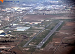 Aerial photo of KMSO (Missoula International Airport)