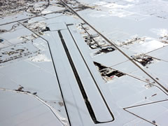 Aerial photo of KRIF (Richfield Municipal Airport)
