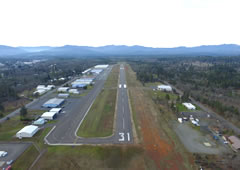 Aerial photo of 3S8 (Grants Pass Airport)