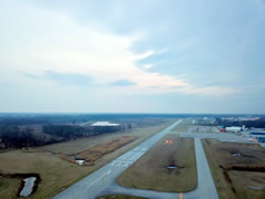 Aerial photo of 05C (Griffith-Merrillville Airport)