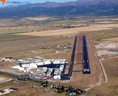 Aerial photo of KDIJ (Driggs-Reed Memorial Airport)