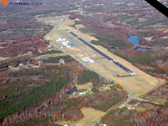 Aerial photo of KSIF (Rockingham County NC Shiloh Airport)