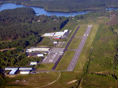 Aerial photo of KTAN (Taunton Municipal Airport - King Field)