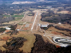 Aerial photo of KJCA (Jackson County Airport)