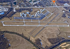 Aerial photo of KJVY (Clark Regional Airport)