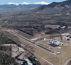 Aerial photo of KHIE (Mount Washington Regional Airport)