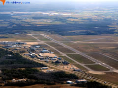 Aerial photo of KMGM (Montgomery Regional Airport (Dannelly Field))