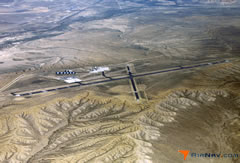 Aerial photo of KRKS (Southwest Wyoming Regional Airport)