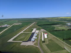 Aerial photo of 08D (Stanley Municipal Airport)