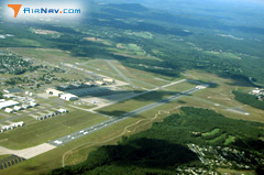 Aerial photo of KCEF (Westover Air Reserve Base/Metropolitan Airport)