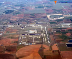 Aerial photo of KLBB (Lubbock Preston Smith International Airport)