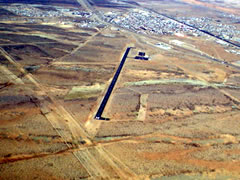 Aerial photo of KLSB (Lordsburg Municipal Airport)