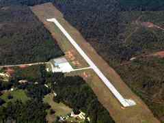Aerial photo of 23M (Clarke County Airport)