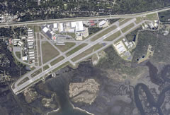 Aerial photo of KSGJ (Northeast Florida Regional Airport)