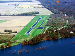 Aerial photo of 0M2 (Reelfoot Lake Airport)