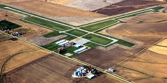 Aerial photo of KEZI (Kewanee Municipal Airport)