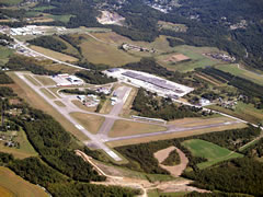 Aerial photo of KVVS (Joseph A Hardy Connellsville Airport)