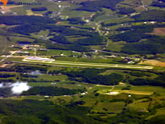 Aerial photo of KMKJ (Mountain Empire Airport)