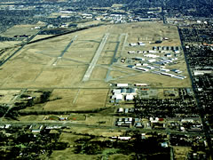 Aerial photo of KPWA (Wiley Post Airport)