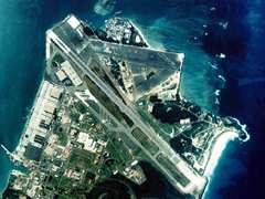Aerial photo of PHNG (Kaneohe Bay Marine Corps Air Station (Marion E Carl Field))