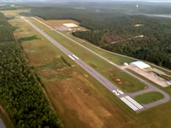 Aerial photo of 1R8 (Bay Minette Municipal Airport)
