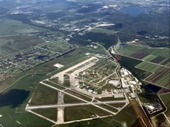 Aerial photo of KSEF (Sebring Regional Airport)