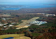 Aerial photo of 2W6 (St Mary's County Regional Airport)