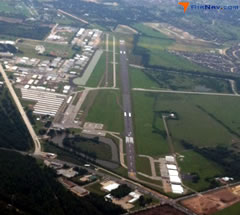 Aerial photo of KDWH (David Wayne Hooks Memorial Airport)