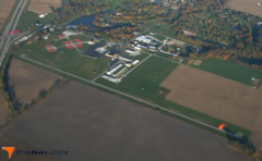 Aerial photo of I34 (Greensburg Municipal Airport)