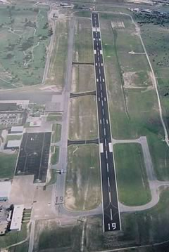 Aerial photo of KILE (Skylark Field Airport)