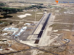 Aerial photo of KFLX (Fallon Municipal Airport)