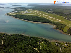 Aerial photo of KBHB (Hancock County-Bar Harbor Airport)