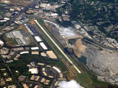 Aerial photo of KRYY (Cobb County International Airport-McCollum Field)