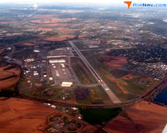 Aerial photo of KOFF (Offutt Air Force Base)