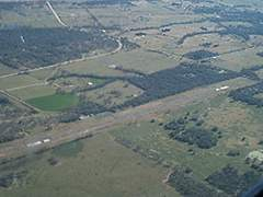 Aerial photo of 51R (Madisonville Municipal Airport)