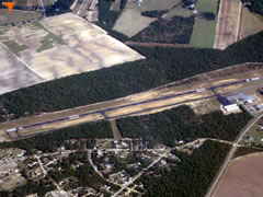 Aerial photo of 6J0 (Lexington County Airport at Pelion)