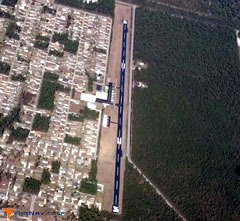 Aerial photo of 5R2 (Ocean Springs Airport)