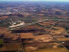 Aerial photo of KBFF (Western Nebraska Regional Airport/William B. Heilig Field)