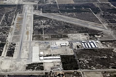 Aerial photo of KTRM (Jacqueline Cochran Regional Airport)