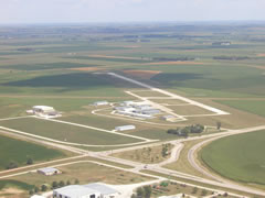 Aerial photo of KAHQ (Wahoo Municipal Airport)