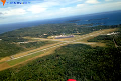 Aerial photo of KRKD (Knox County Regional Airport)