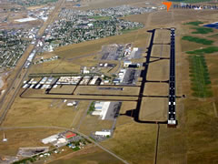 Aerial photo of KBZN (Bozeman Yellowstone International Airport)