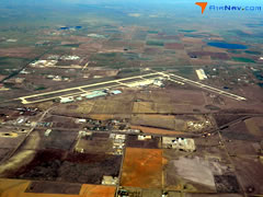 Aerial photo of KAMA (Rick Husband Amarillo International Airport)
