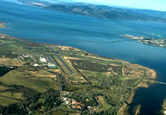 Aerial photo of KAST (Astoria Regional Airport)