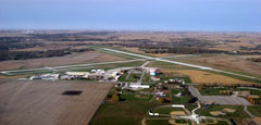 Aerial photo of KFOD (Fort Dodge Regional Airport)