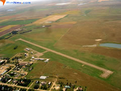 Aerial photo of 6V5 (Bison Municipal Airport)