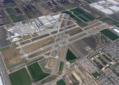 Aerial photo of KCNO (Chino Airport)