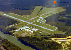 Aerial photo of KDYA (Demopolis Regional Airport)
